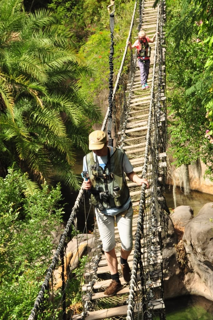 Dad and Im on Rope Bridges