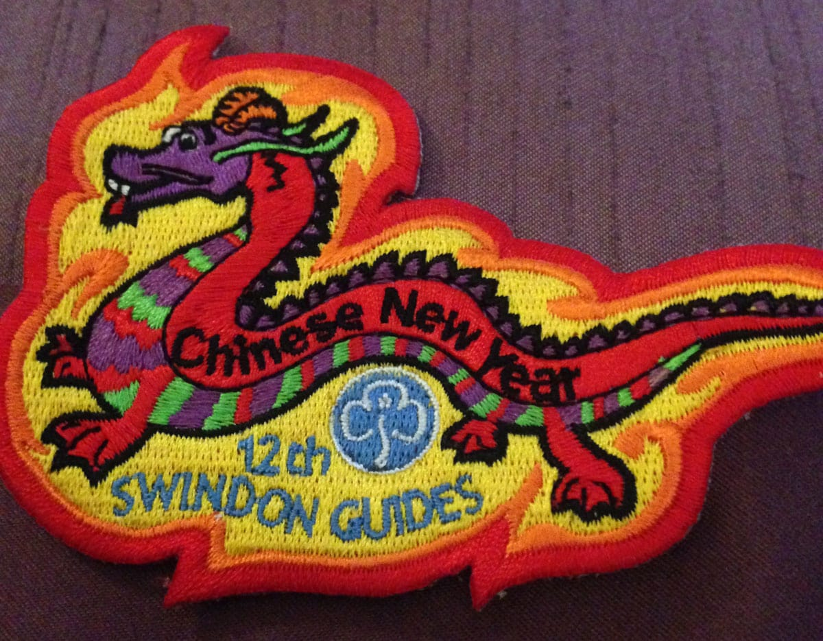 Guides Chinese New years Badge