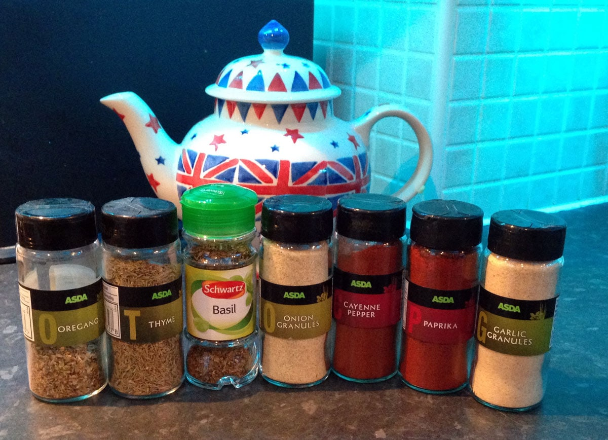 Disney Recipe Spices