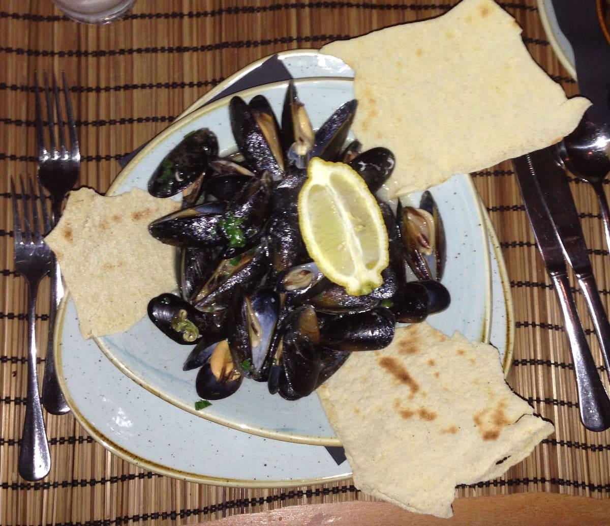 Adrianos Mussels