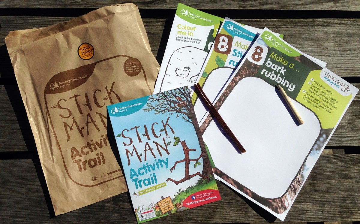 Stick Man Activity Bag