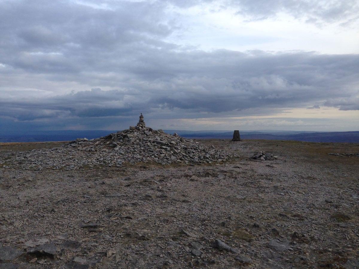 Yorkshire three peaks Ingleborough
