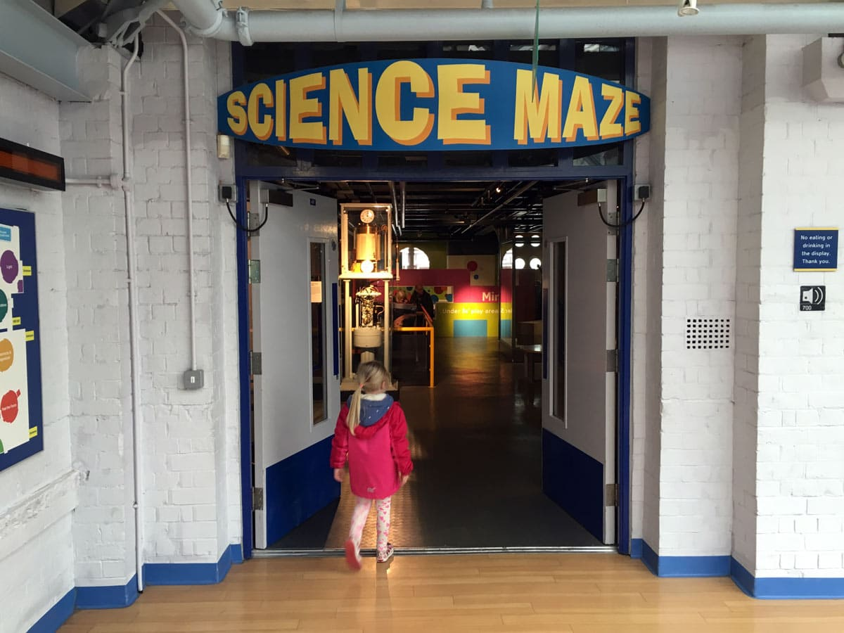 Discovery Museum Science Maze