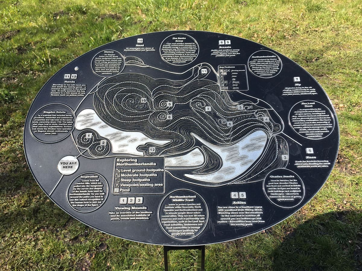 northumberlandia-plaque