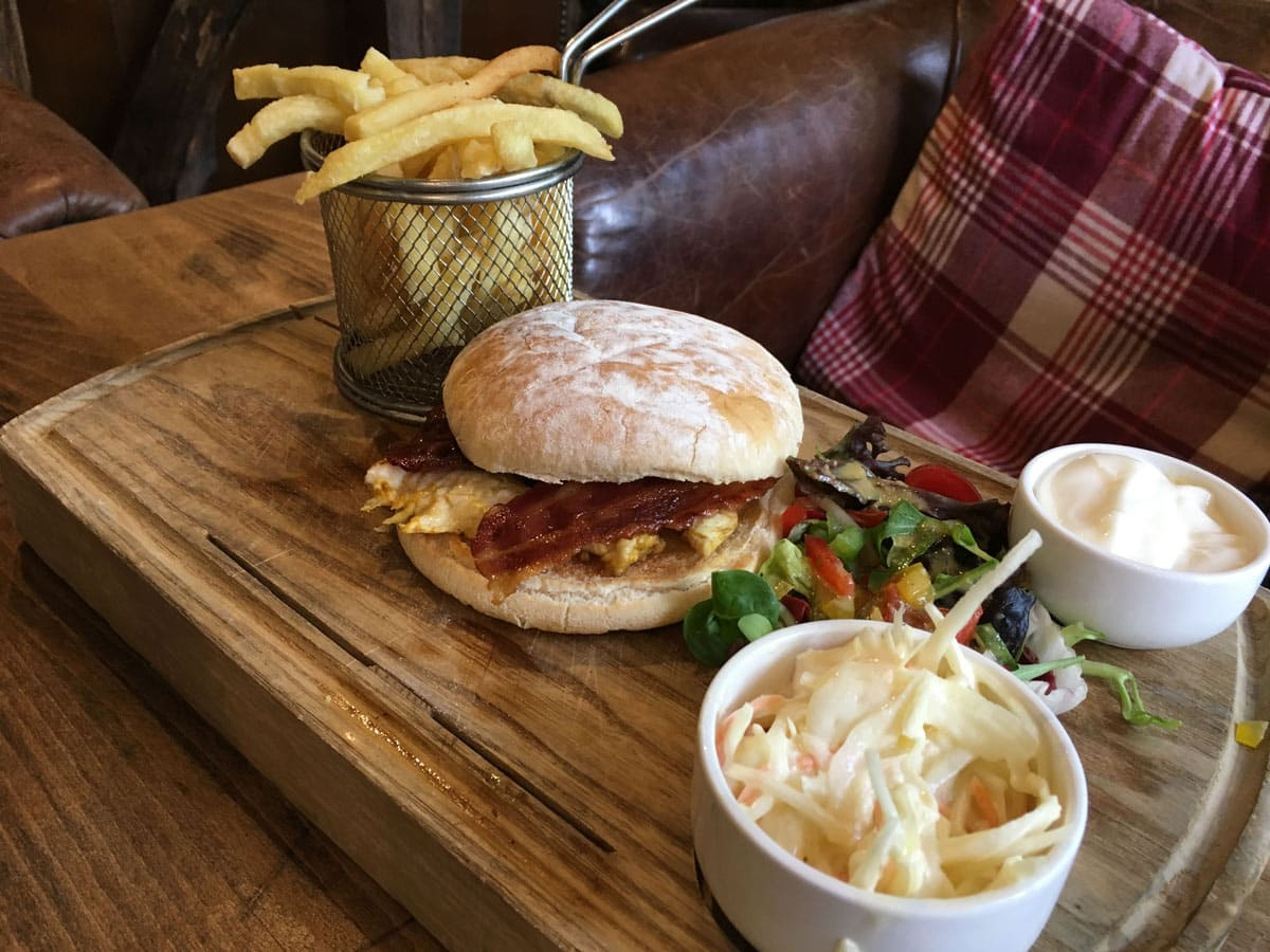 Chicken and Bacon Sandwich