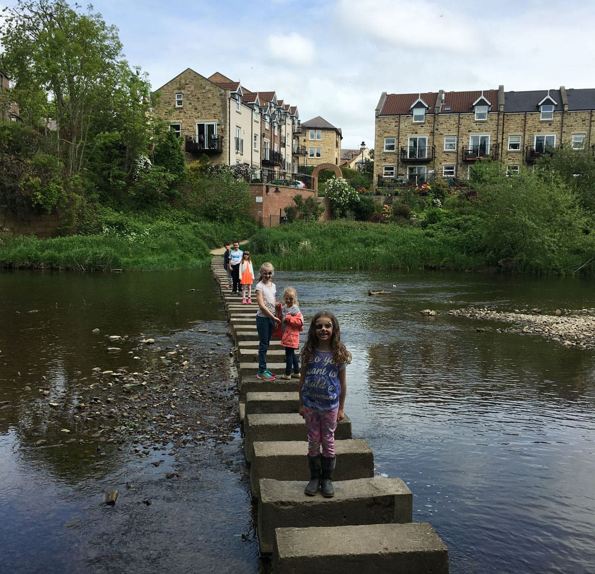 Morpeth Stepping Stones