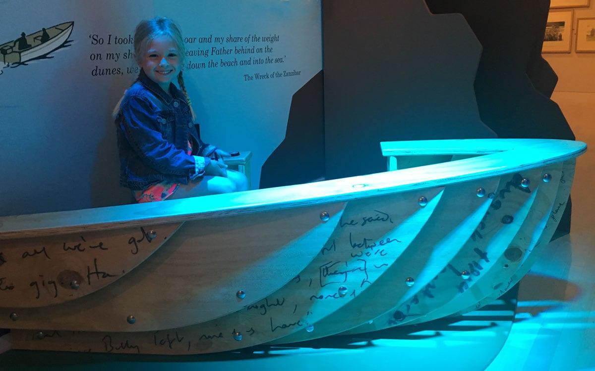 Abigail in a Boat
