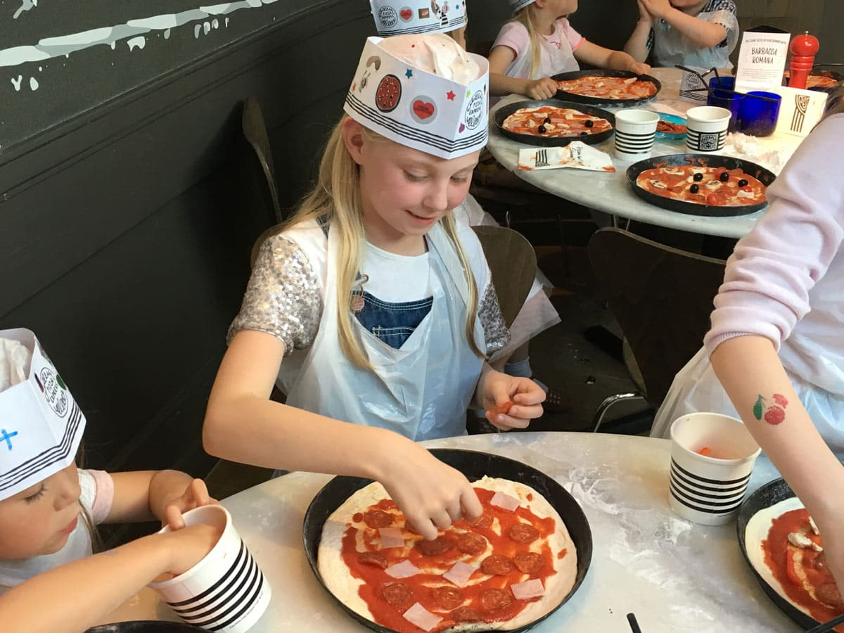 Pizza Express Party Toppings