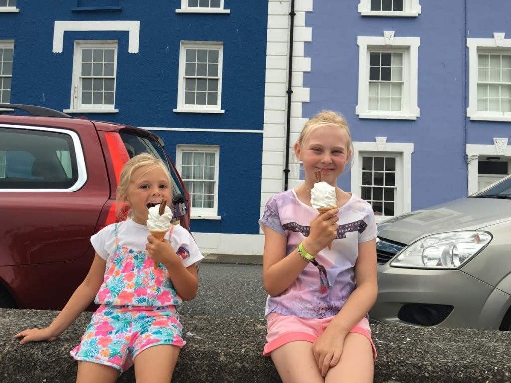Aberaeron Honey Ice Cream
