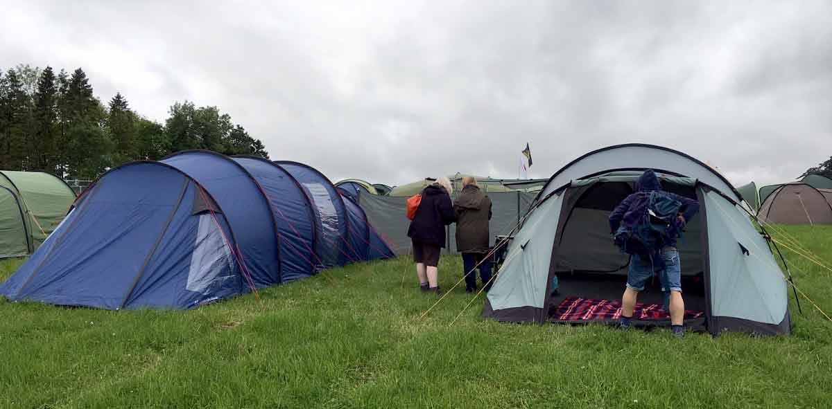 Kendal Calling Camping