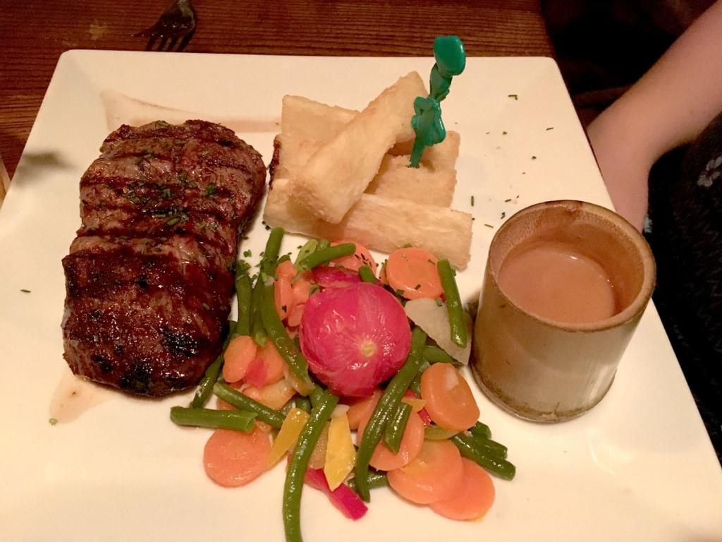 Blue Lagoon Steak