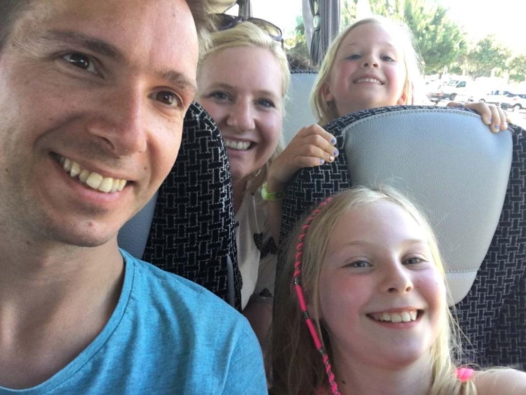 Bus Trip Selfie