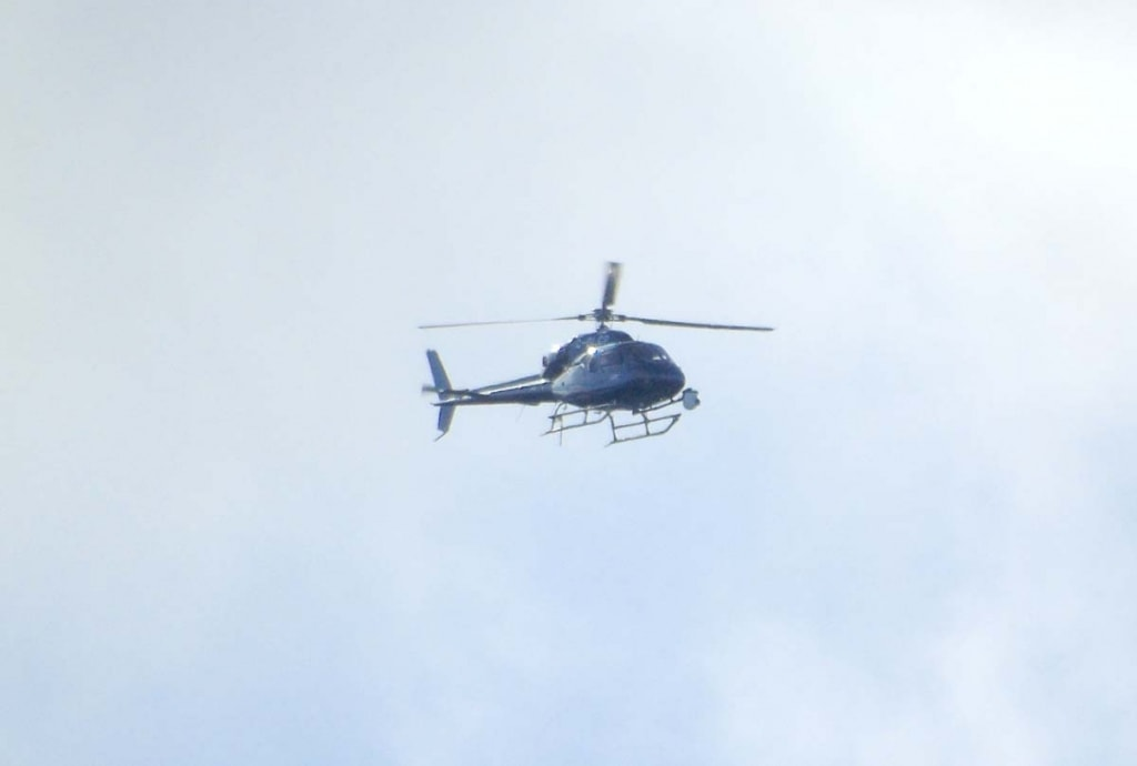 Great North Run Helicopter