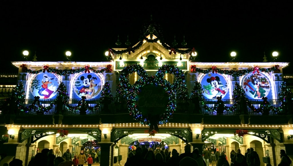Disneyland Paris at Christmas