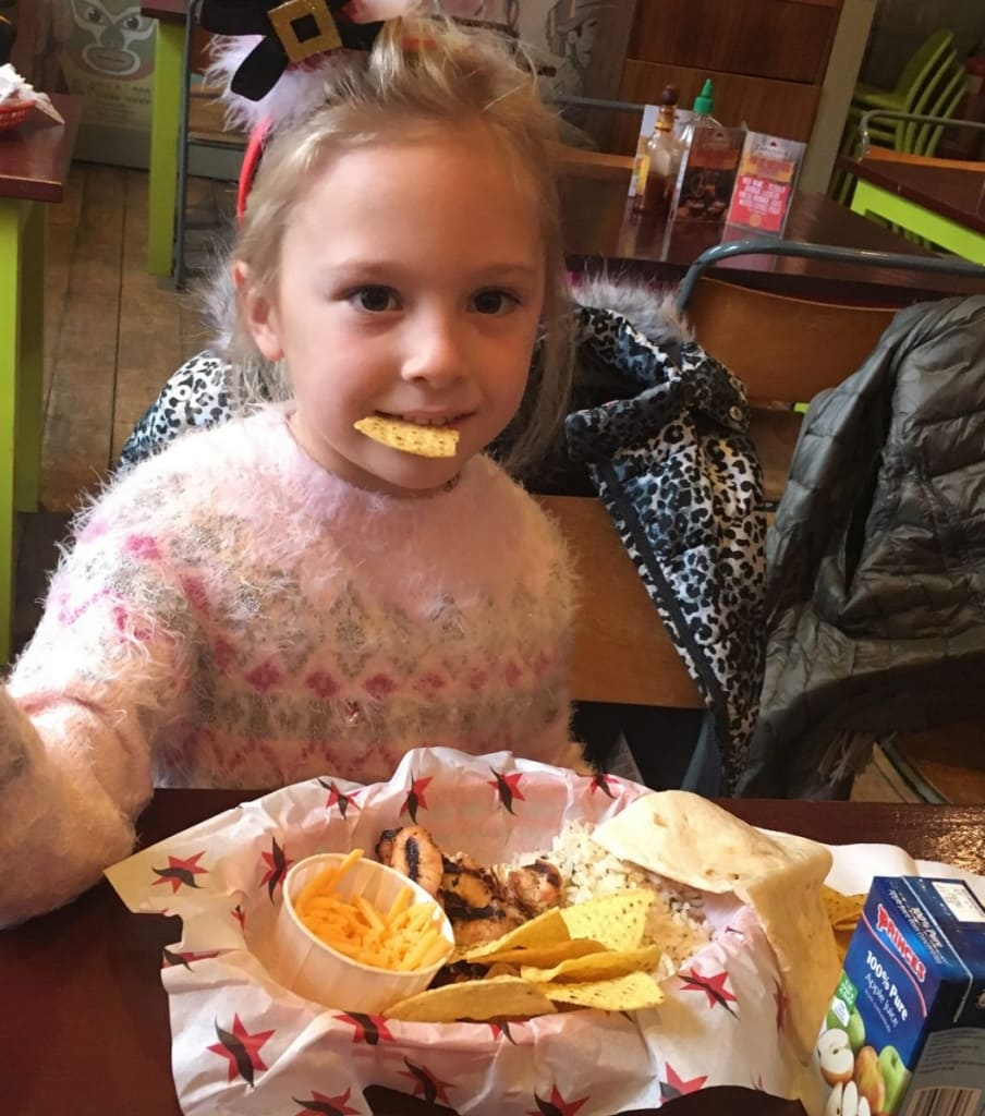 Zapatista Kids Meal