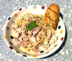 Chicken and Bacon Pasta