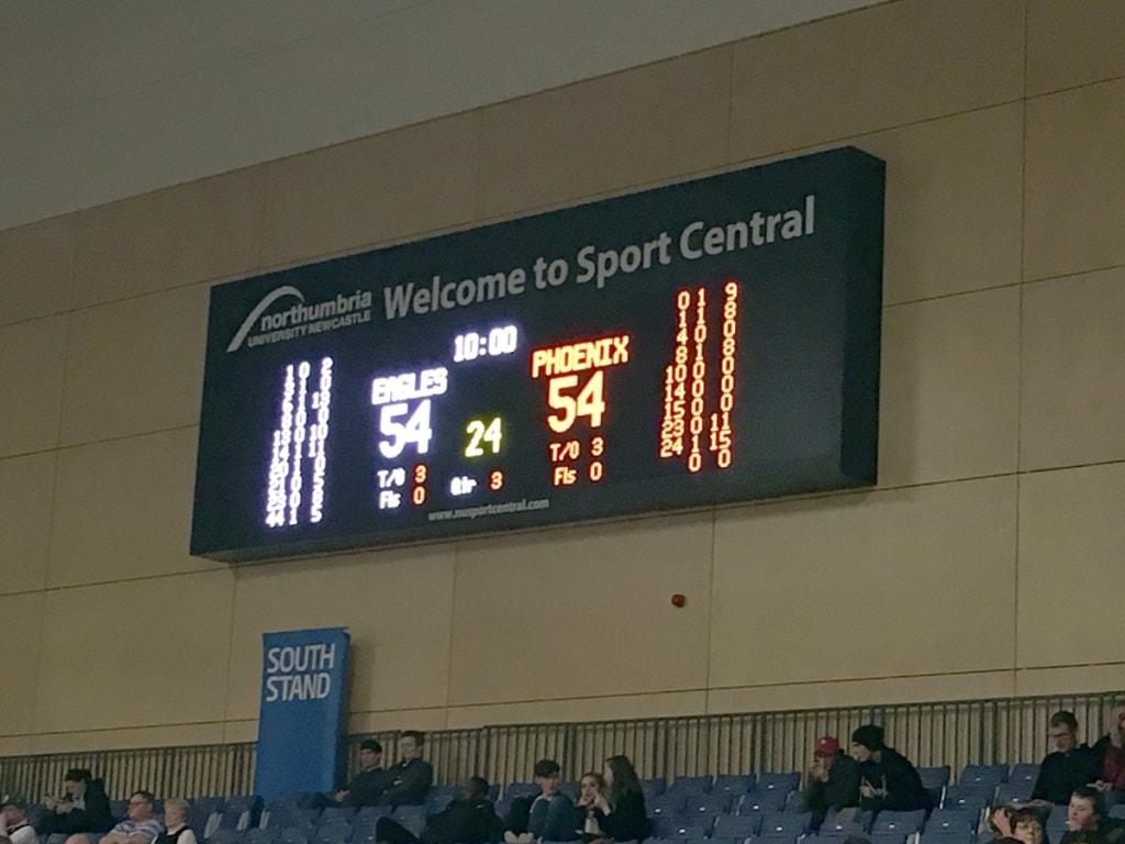 Half Time Score Board