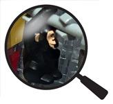 Hidden Lego Monkey