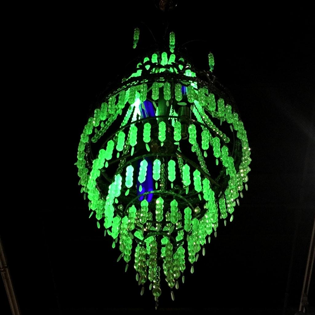 Jade chandelier