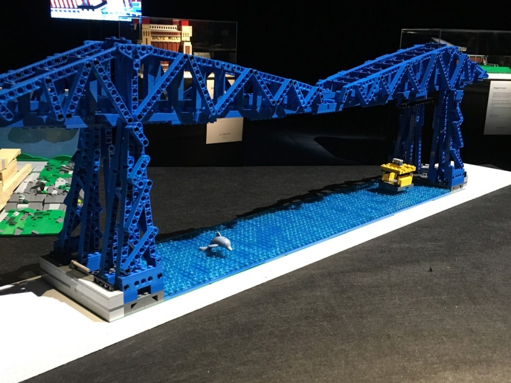 Lego Transporter Bridge