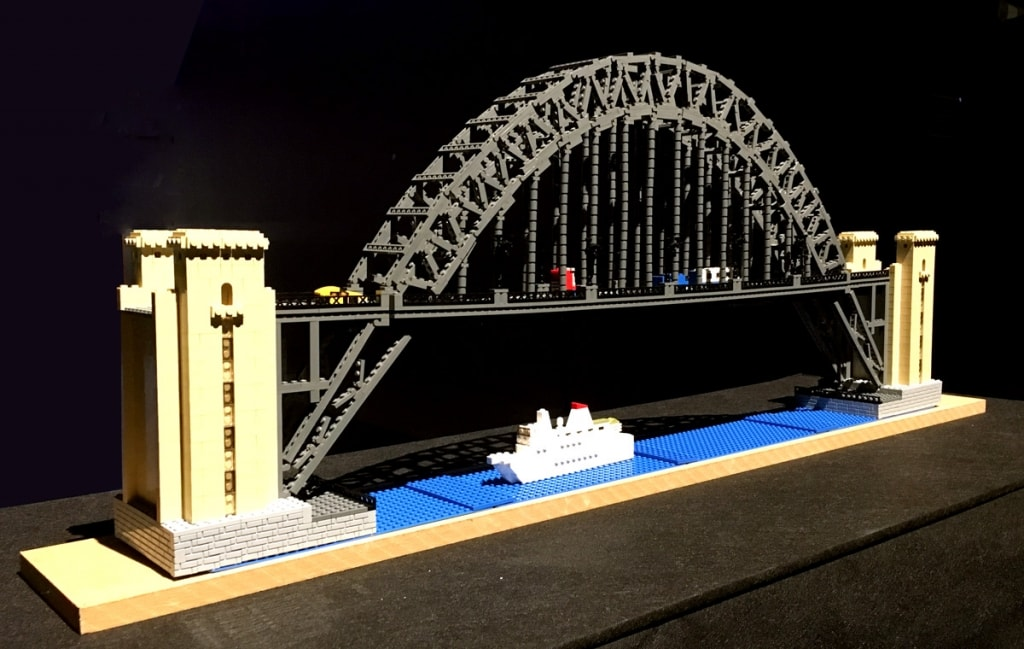 Lego Tyne Bridge