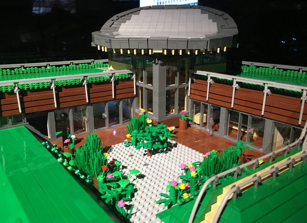 Lego Maggies Centre Building