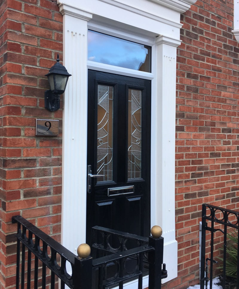 A new composite door excel north east for Front door north tyneside