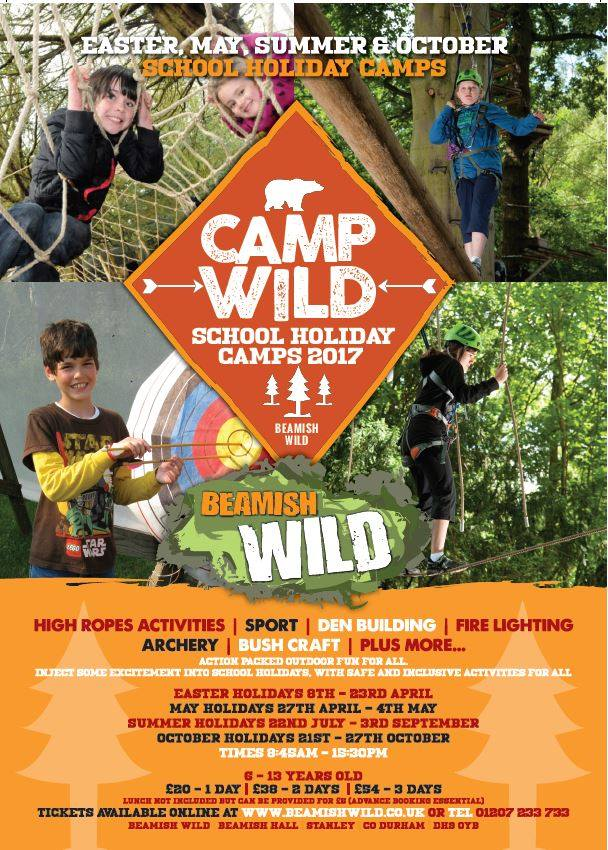 Beamish Wild School Holiday Camp