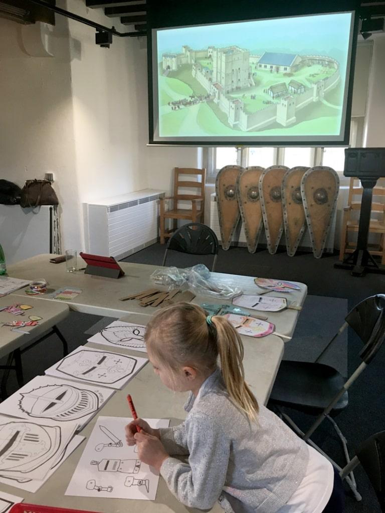 Crafts Newcastle castle