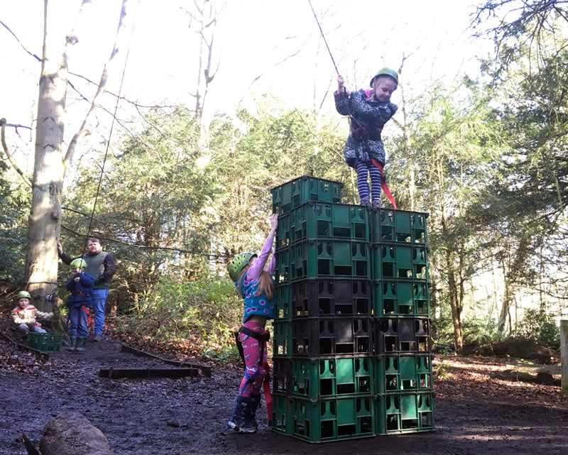 Beamish Wild Crate Stacking