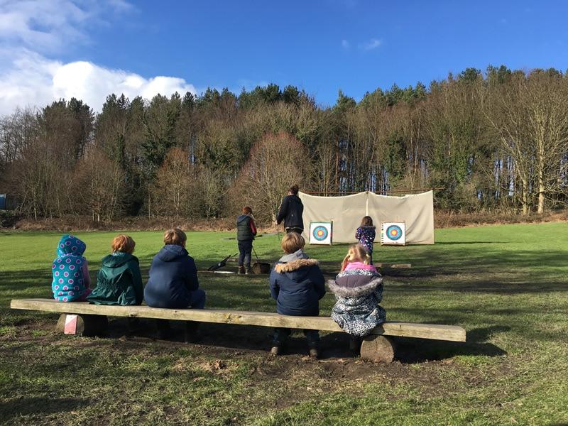 Archery at Beamish Wild