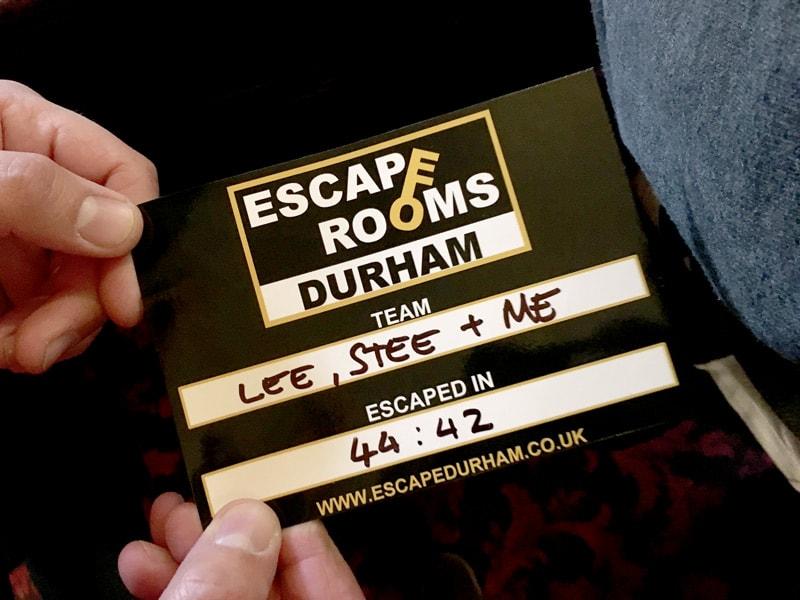 Escape Room Durham