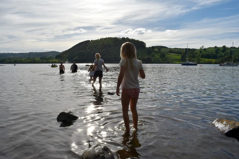 Ullswater swimming