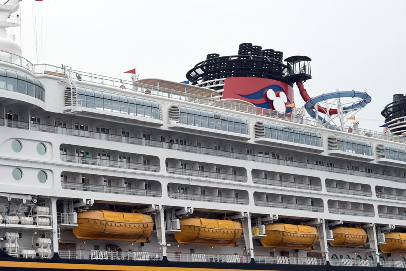 Disney Cruise Ship Newcastle
