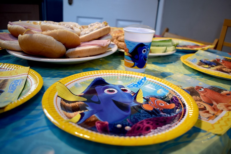 Disney Party Plates