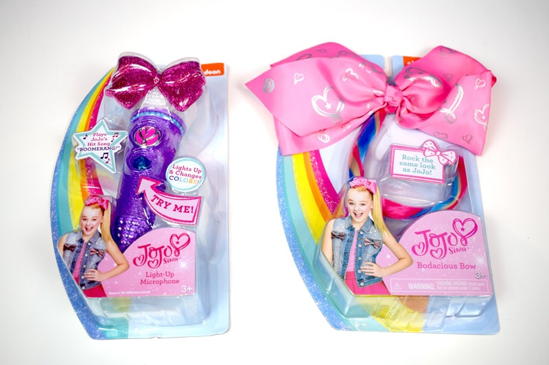 Jojo Siwa and Nickelodeon Toys