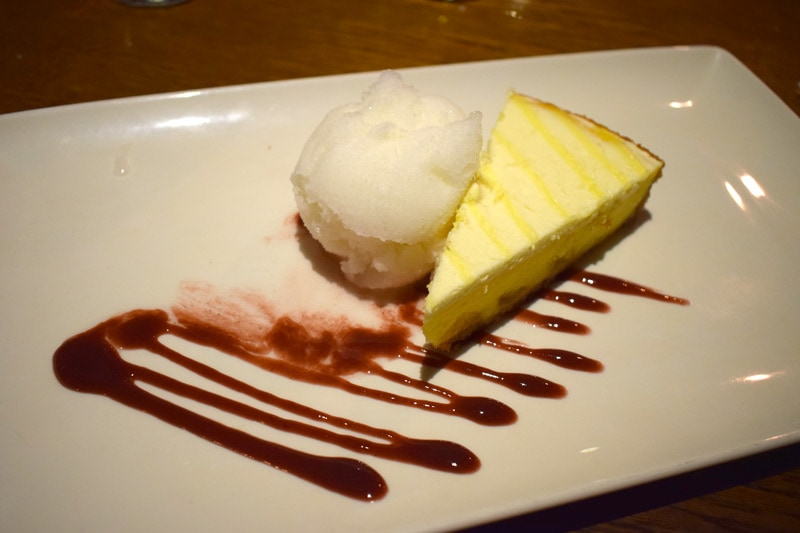 Limoncello Cheesecake