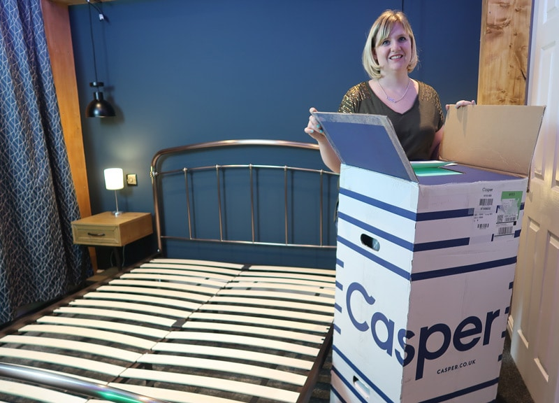 Casper Mattress Review and Discount Code