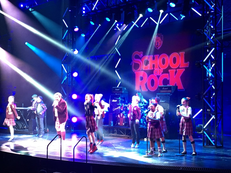 School of Rock Musical London