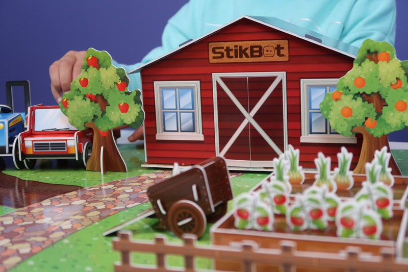 Stikbot Farm Movie Set Review