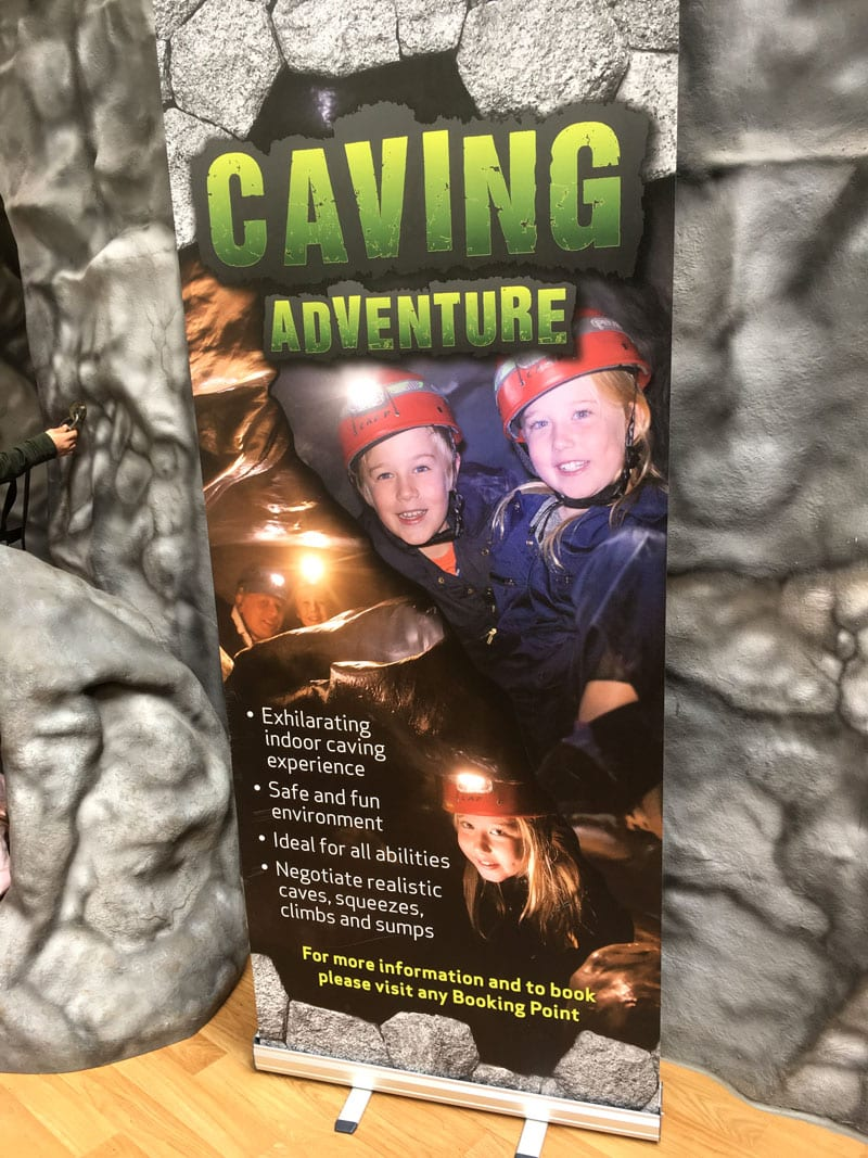Caving adventure Center Parcs Whinfell Forest