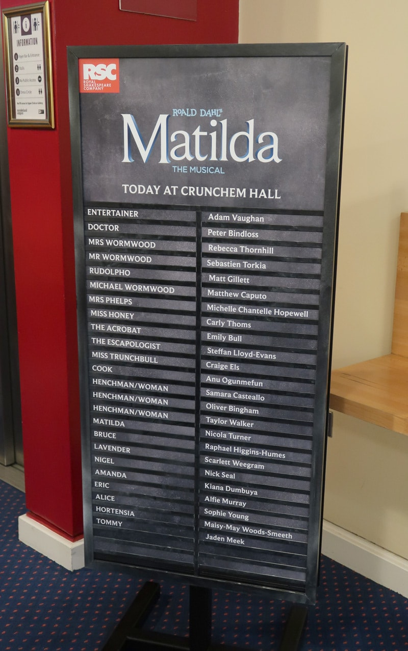 Matilda The Musical Sunderland Cast