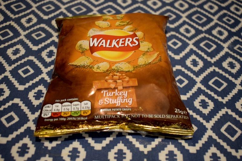 Christmas Flavour Crisps