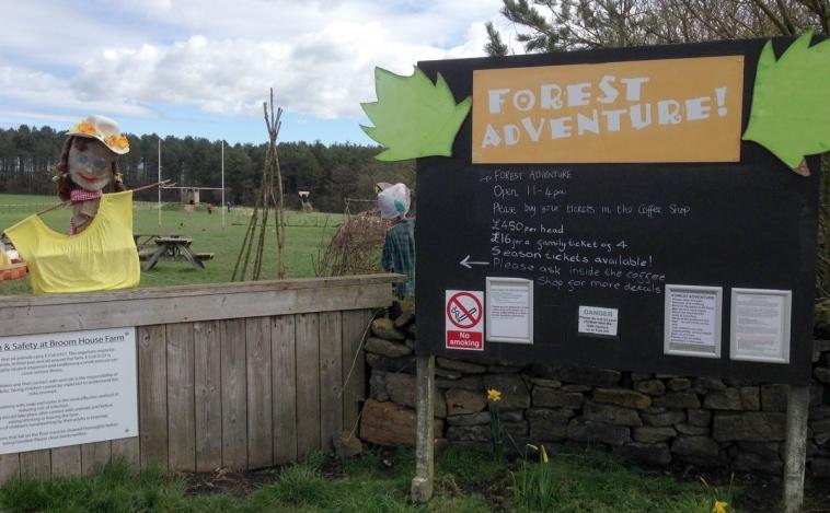 Broom House Farm Forest Adventure