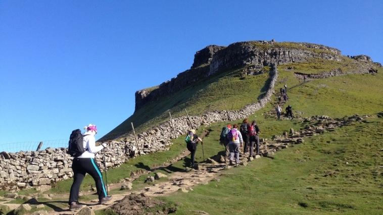 Yorkshire three peaks Challenge