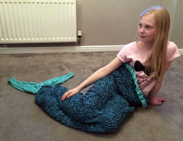 Mermaid Blanket Crochet