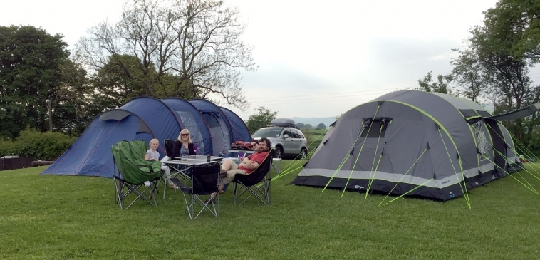 Camping in Kendal