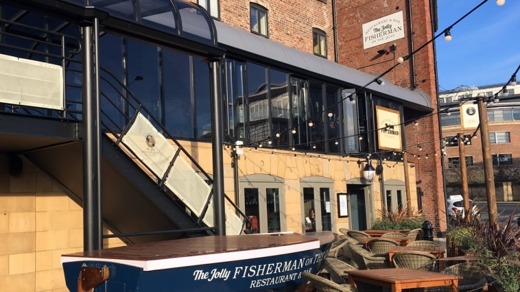 The Jolly Fisherman on the Quay