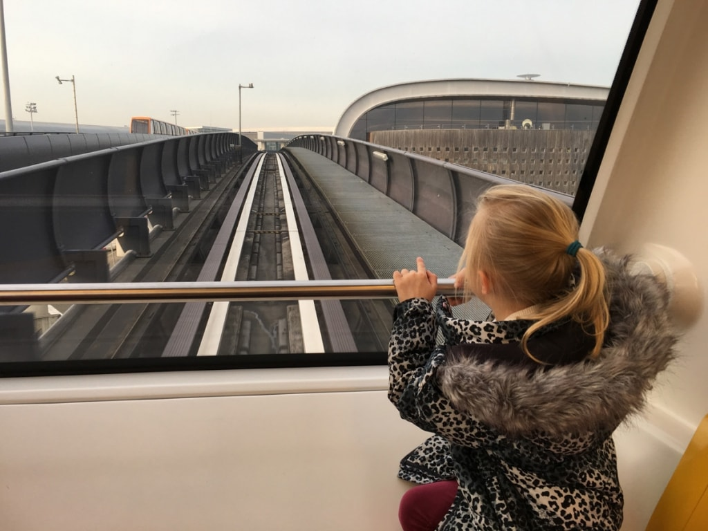 Monorail Transfer to Terminal 2
