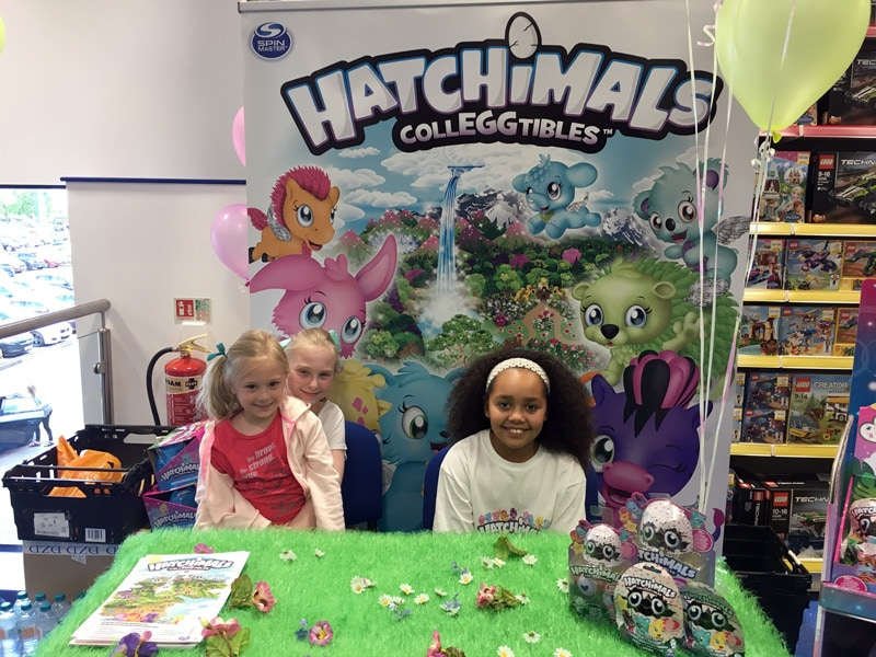 Meeting Tiana Toys And Me At The Hatchimals Colleggtibles